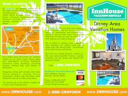Vacation homes with pools near Disney World in Orlando.